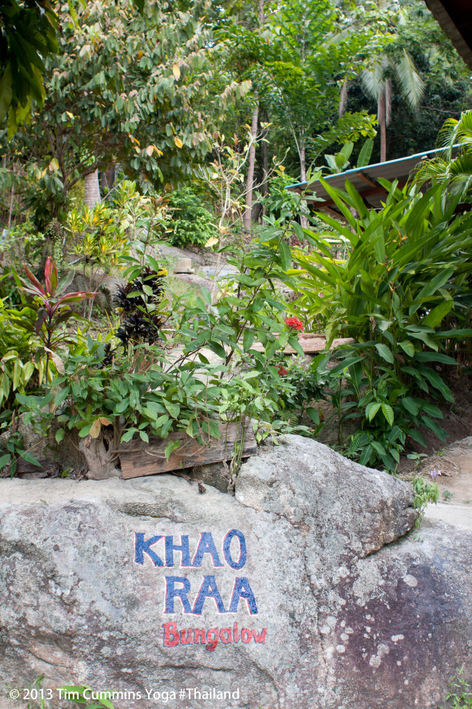 Entrance to Khao Raa Retreat