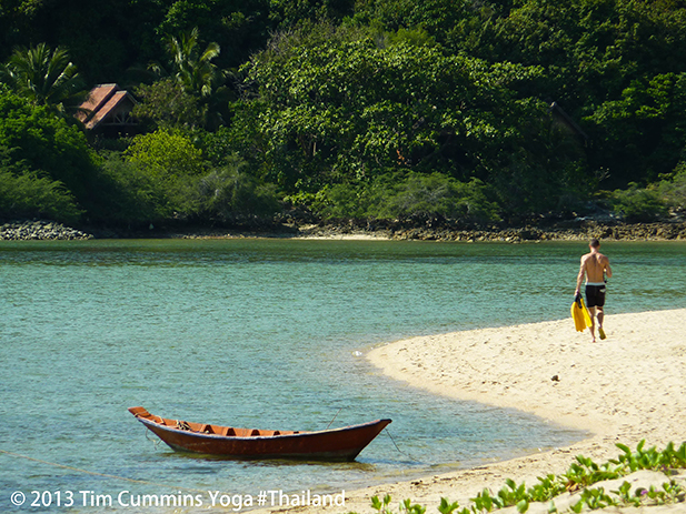 Mae Haad. Best spot on the island for snorkelling.
